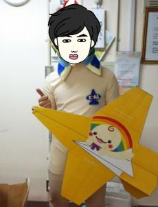 紙飛行機01